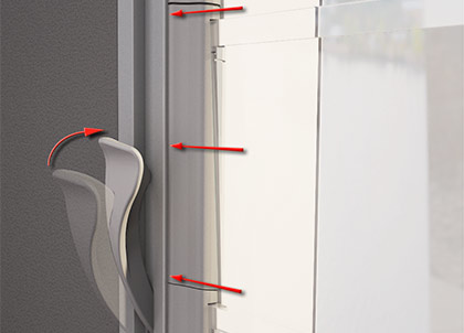 Breezway tight sealing windows