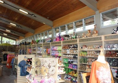 Breezway Louvres in gift shops keeps visitors comfortable