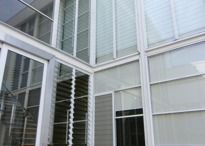 Altair Louvres are custom made