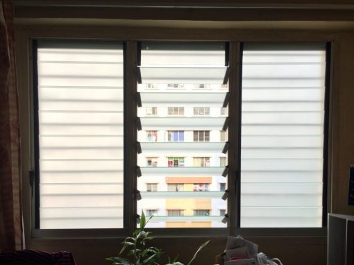 High Rise Apartment, Replacing Nako Louvres