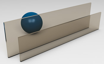 <strong>Bronze Tinted Glass</strong><p>Works best to reduce solar heat gain - beneficial in hot climates.</p>