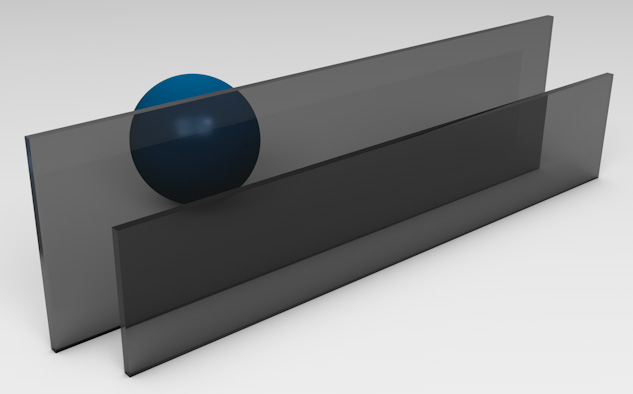 <strong>Dark Grey Tinted Glass</strong><p>Works best to reduce solar heat gain - beneficial in hot climates.</p>