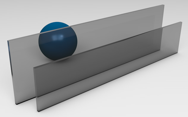 <strong>Euro Grey Tinted Glass</strong><p>Works best to reduce solar heat gain - beneficial in hot climates.</p>