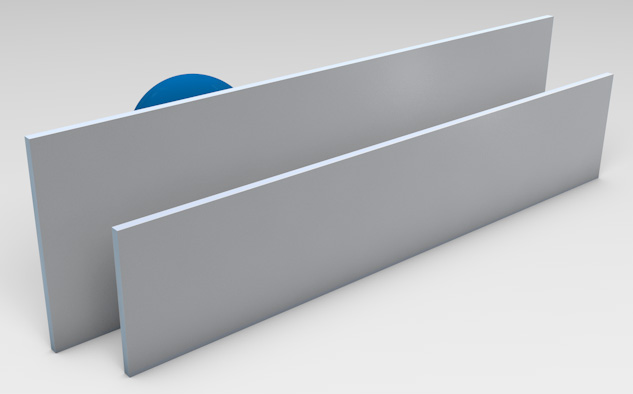 <strong>Natural Anodised Aluminium</strong><p>Provides privacy with ventilation.</p>