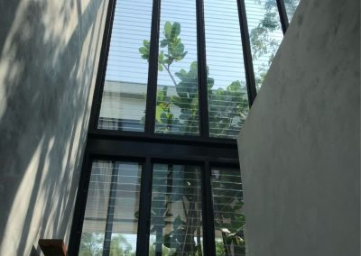 RD House using Walls of Breezway Louvres