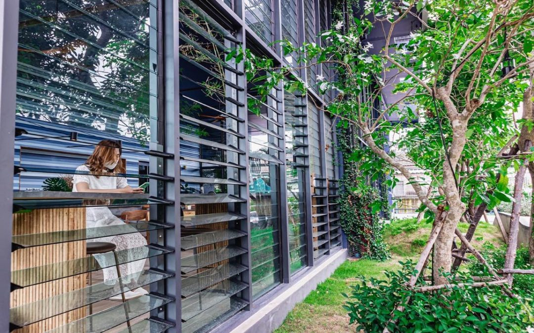 Breezway Louvres in the new Hua Hin Hotel